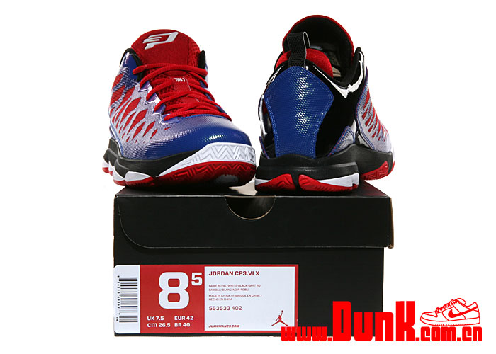 Jordan CP3.VI 'Game Royal/White-Black-Sport Red'
