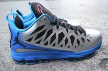 Jordan CP3.VI 'Metallic Silver/Black-Signal Blue-Blue Glow'