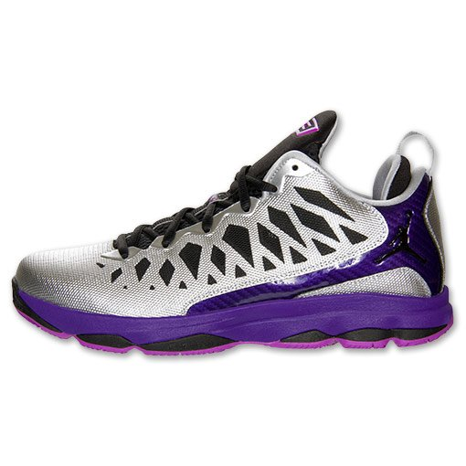Jordan CP3.VI Nitro 'Metallic Silver/Black-Court Purple-Lazer Purple'