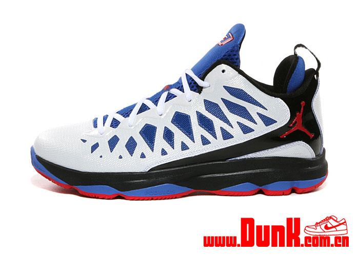 Jordan CP3.VI 'White/Sport Red-Black-Game Royal'