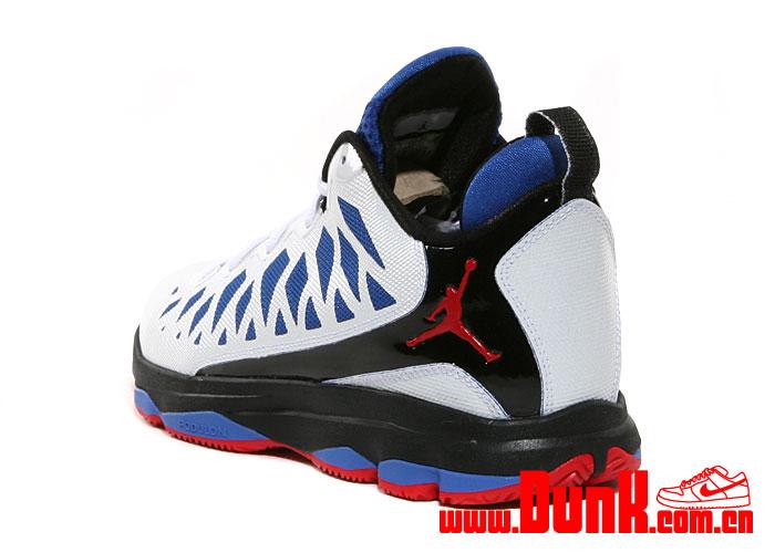 wholesale dealer c2c99 98132 Jordan CP3.VI  White Sport Red-Black-Game Royal