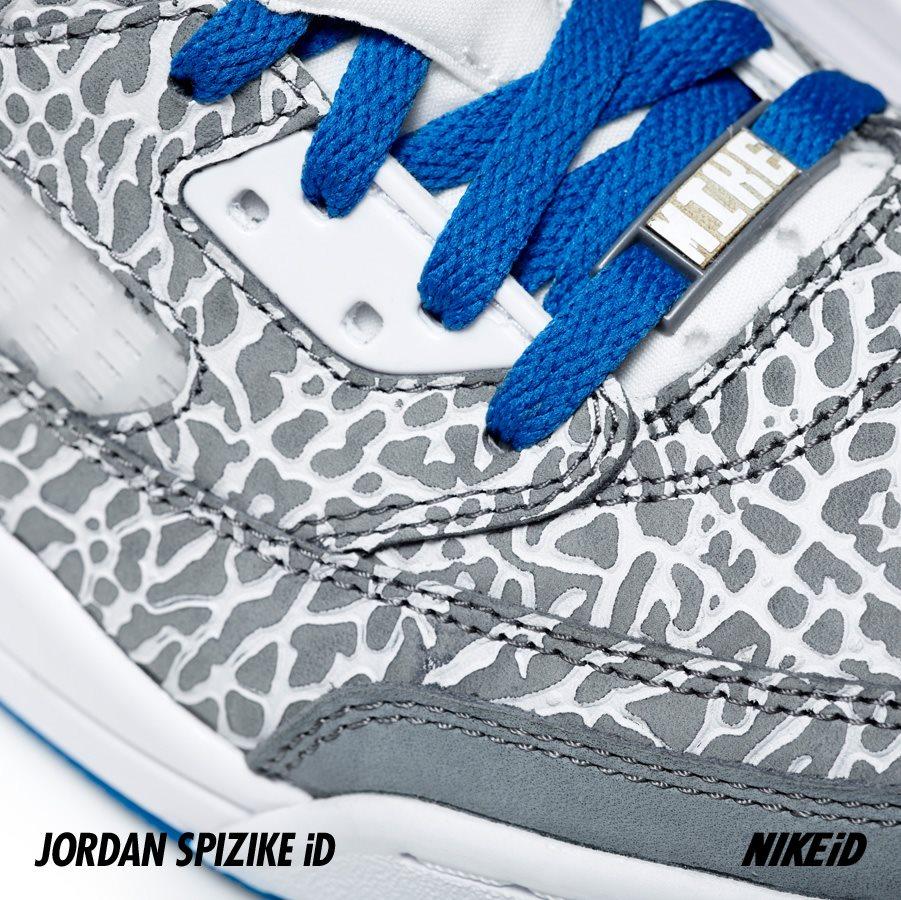 Jordan Spiz'ike iD Elephant Print Flip Option - Release Date + Info