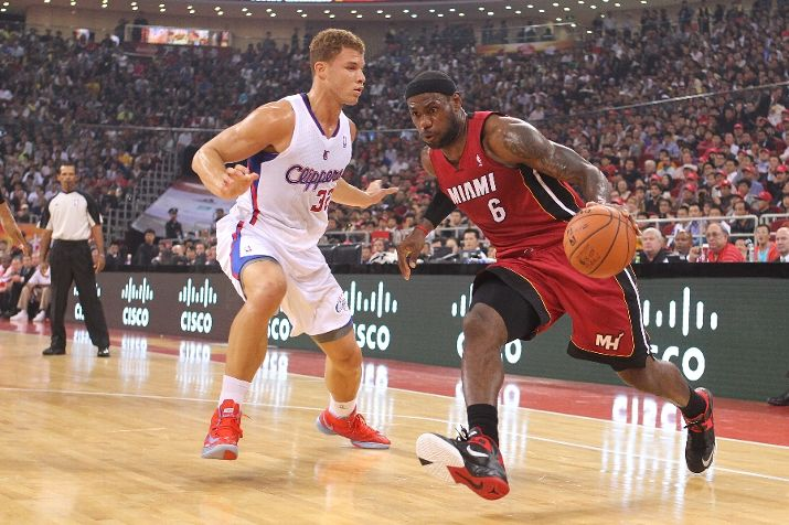 King James Laces Up Zoom Soldier 6 PE in Beijing