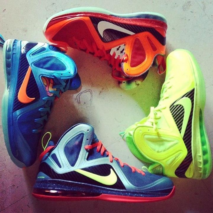 King James Reveals 'Cannon', 'Tennis Ball', 'Blue Flame' and 'Galaxy' Nike LeBron 9 P.S. Elites