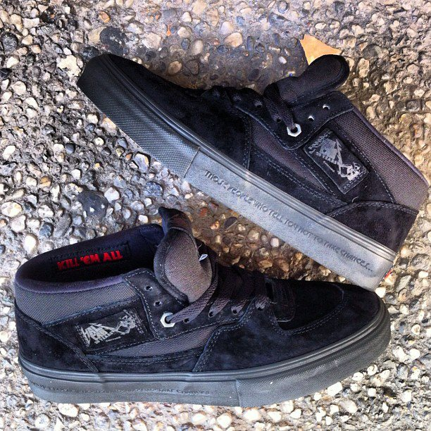 Metallica x Vans Half Cab 'Kill 'Em All' at 510