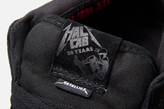 Metallica x Vans Half Cab 'Kill 'Em All' at Atlas