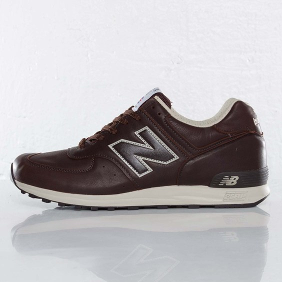 New Balance 576 Brown Leather