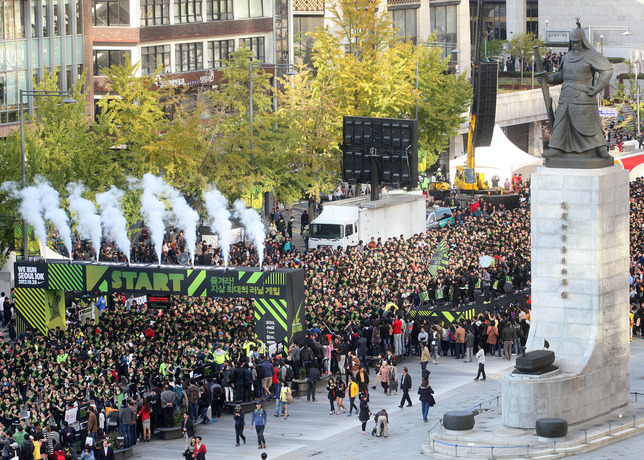Nike's We Run Seoul 10K Makes Running A Game Everyone Can Win