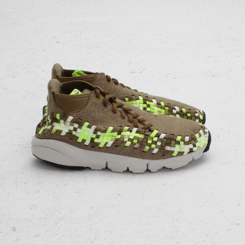 Nike Air Footscape Woven Chukka 'Raw Umber/Volt-Tent-Light Bone' at Concepts