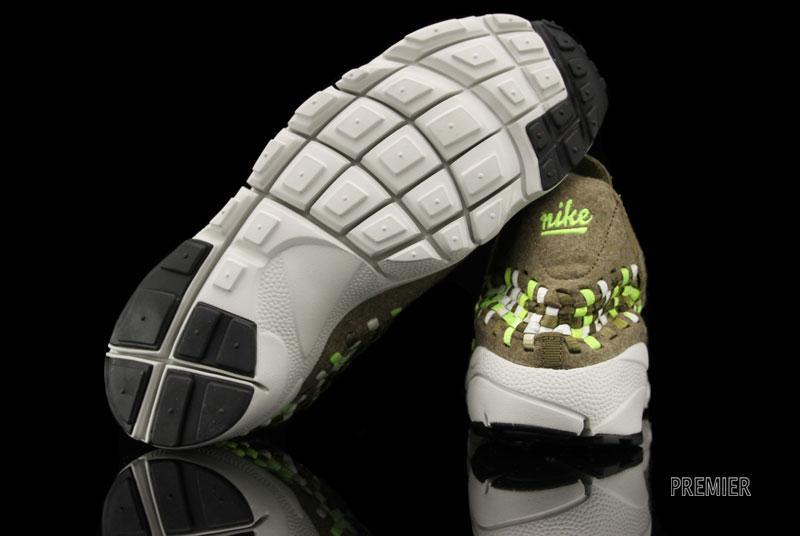 Nike Air Footscape Woven Chukka 'Raw Umber/Volt-Tent-Light Bone'
