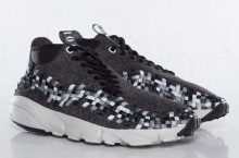 Nike Air Footscape Woven Chukka Wool 'Black/Medium Grey-Midnight Fog-Light Bone'