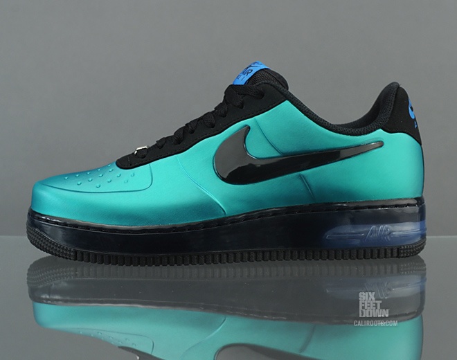 Nike Air Force 1 Foamposite Pro Low 'New Green' at Caliroots SFD