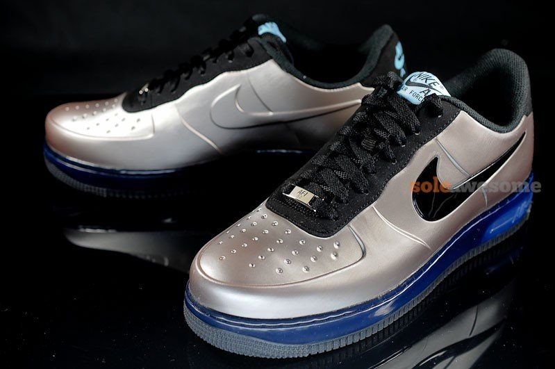 new product ebff4 1291a Nike Air Force 1 Foamposite Pro Low 'Pewter' - New Images ...