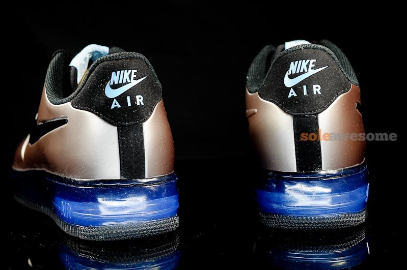 big sale 4a21e 3aeba Nike Air Force 1 Foamposite Pro Low 'Pewter' - New Images | SneakerFiles
