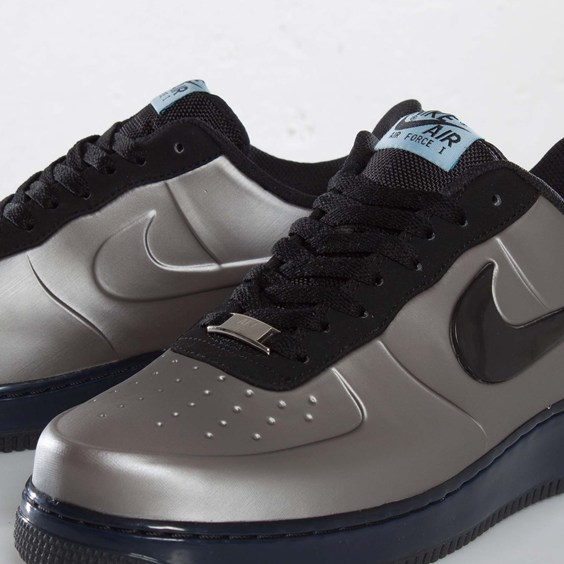 Nike Air Force 1 Foamposite Pro Low 'Pewter' at SNS