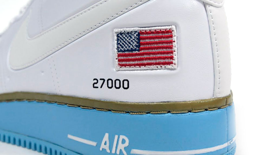 Nike Air Force 1 High VT 'Presidential' at mita