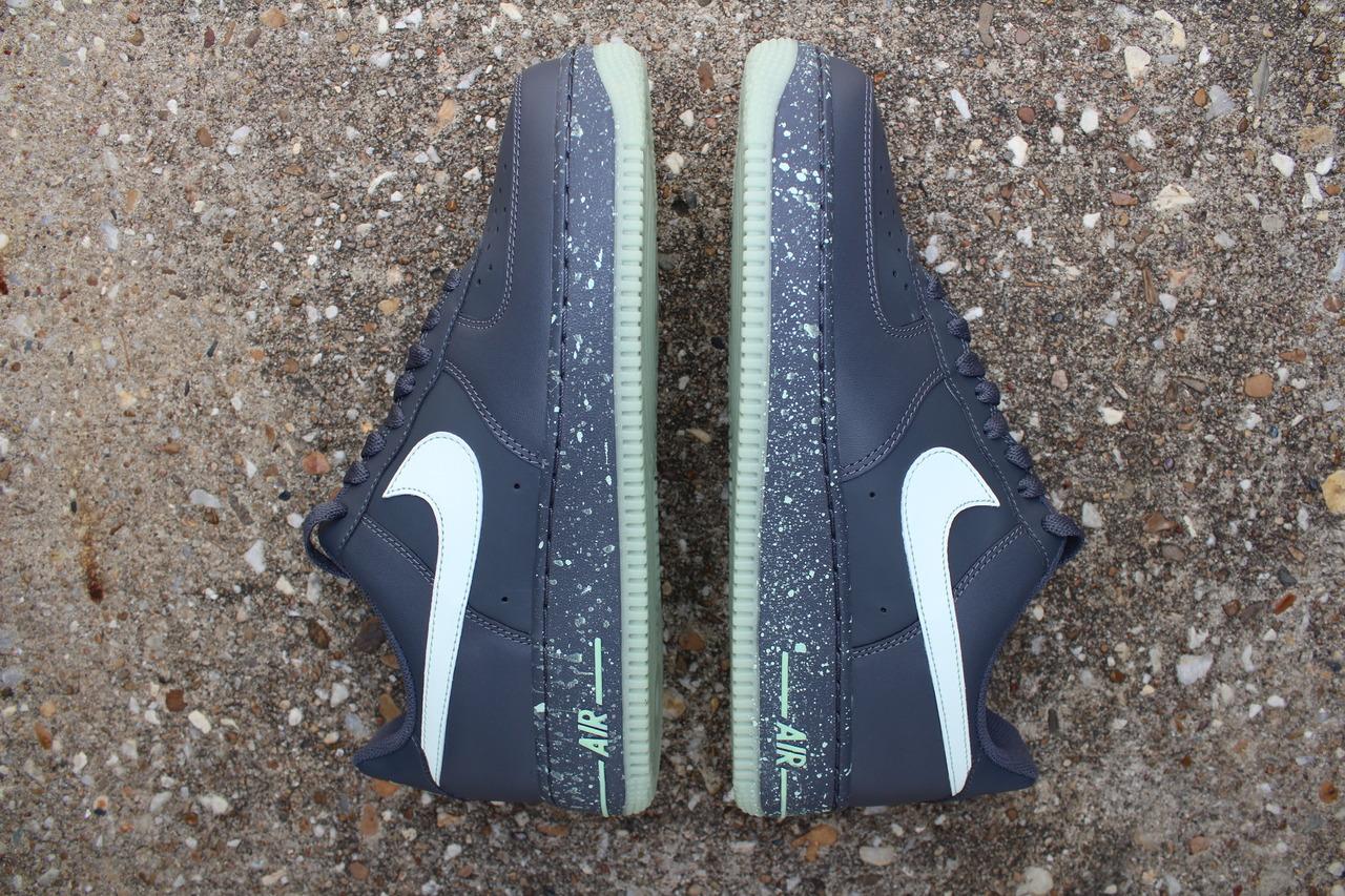 Nike Air Force 1 Low 'Dark Grey/Glow' at Rock City Kicks