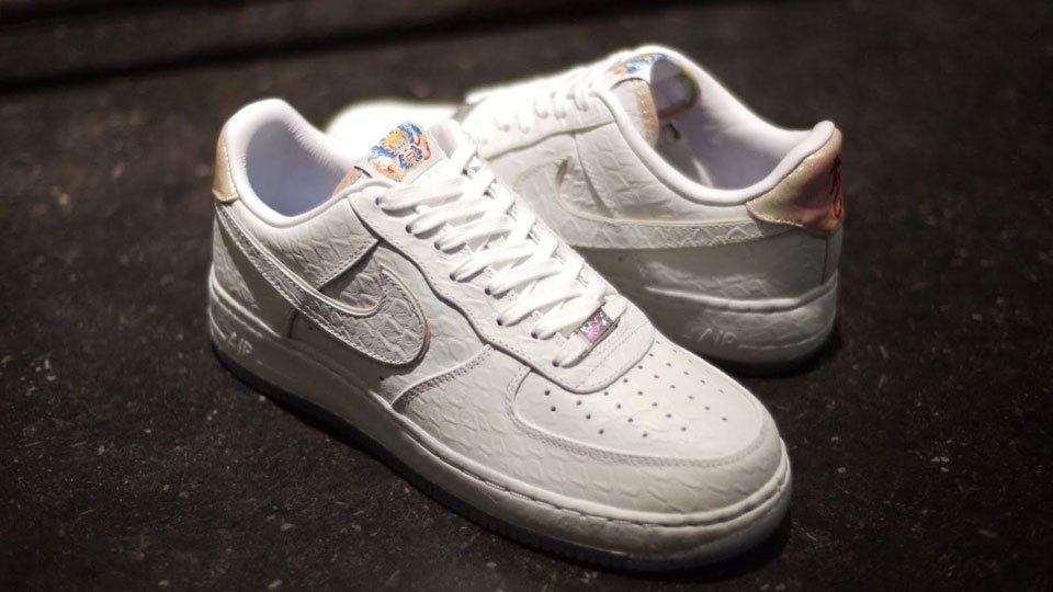 Nike Air Force 1 All Star 2005 Sample BMB507 M16 White White 72