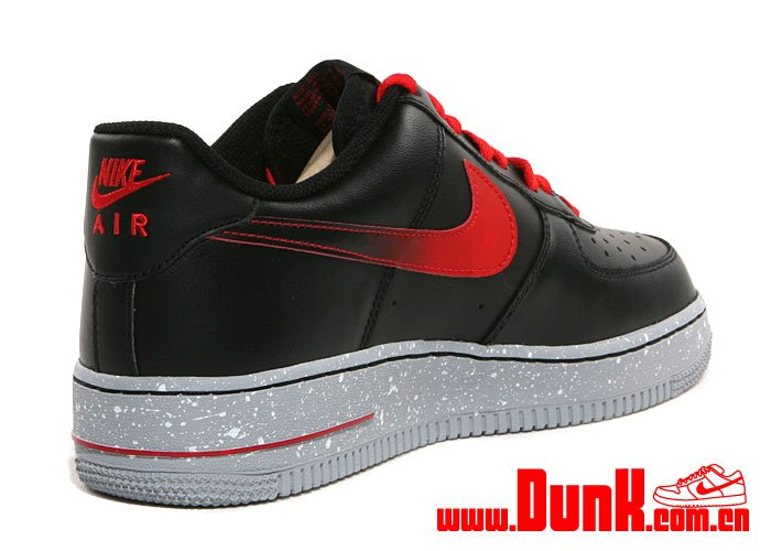 Nike Air Force 1 Low \u0026#39;Black/Challenge Red\u0026#39;