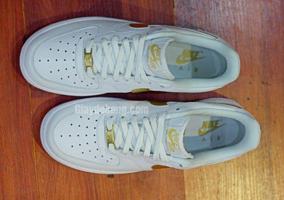 Nike Air Force 1 Low Lizard 'White/Metallic Gold'