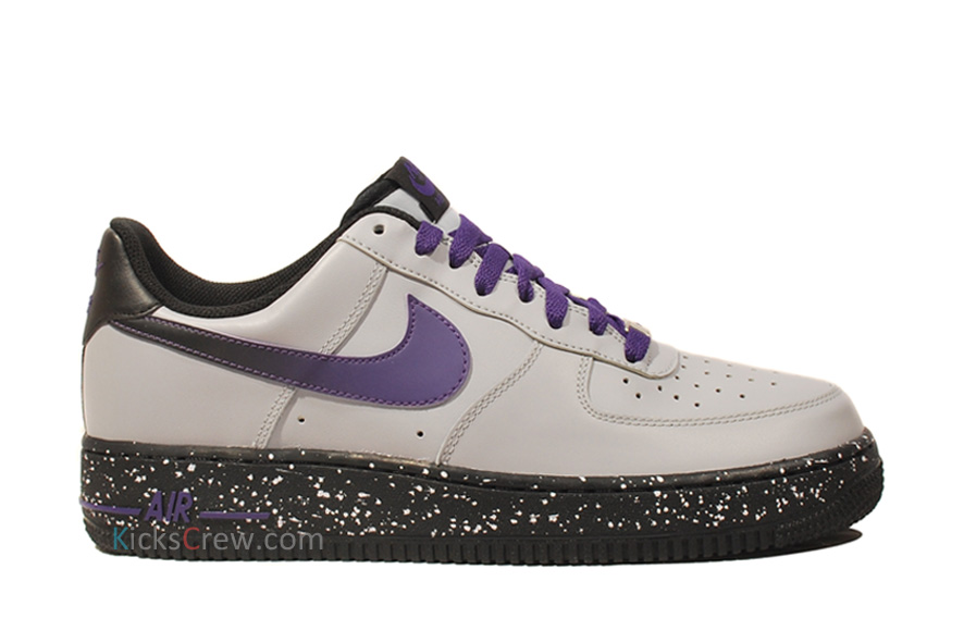 Nike Air Force 1 Low 'Wolf Grey/Court Purple'