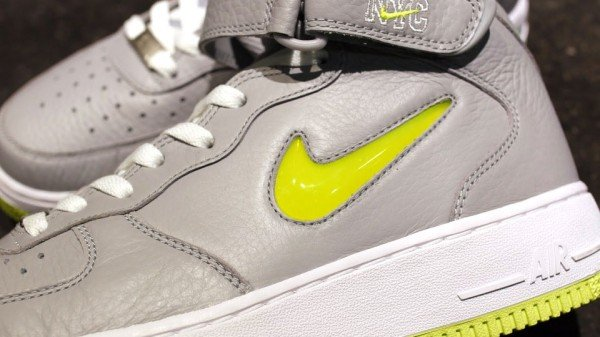 Nike Air Force 1 Mid Jewel NYC 'Wolf Grey/Volt' - Release Date + Info