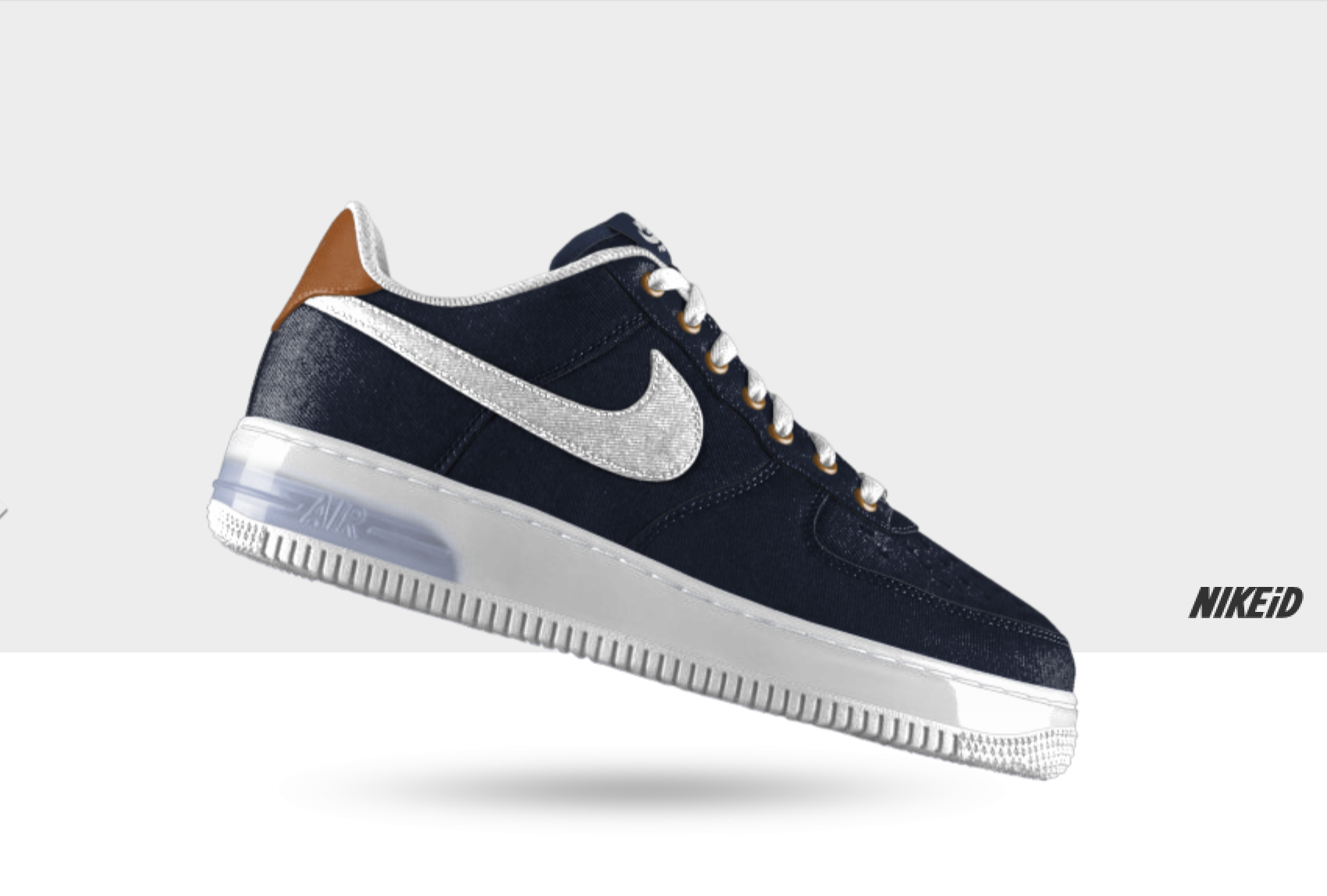 Nike Air Force 1 iD Denim and Goat Leather Options for October