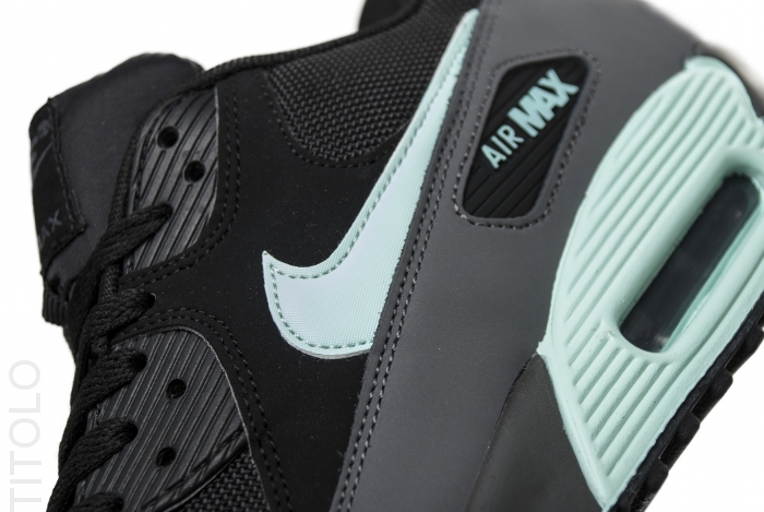 Nike Air Max 90 'Black/Mint Candy-Dark Grey'