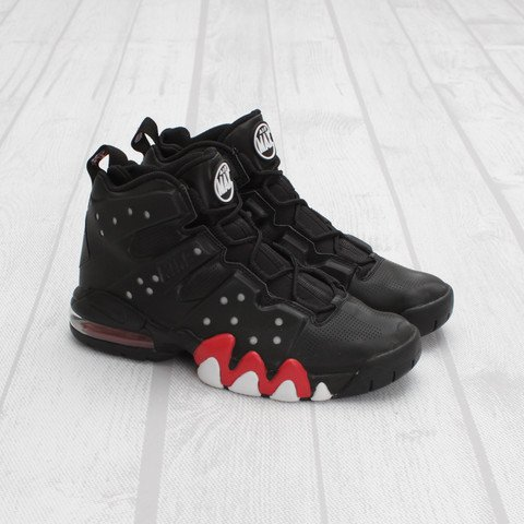 Nike Air Max Barkley 'Black/University Red-White'