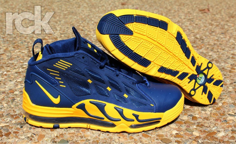 Nike Air Max Pillar 'Midnight Navy/Varsity Maize' at Rock City Kicks