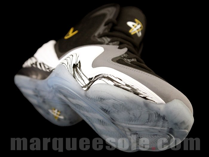 Nike Air Penny V (5) 'Black/Black-Cool Grey-Tour Yellow' - New Images