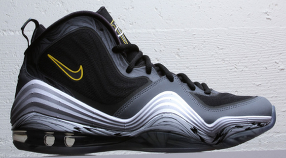 Nike Air Penny V (5) 'Black/Black-Cool Grey-Tour Yellow'