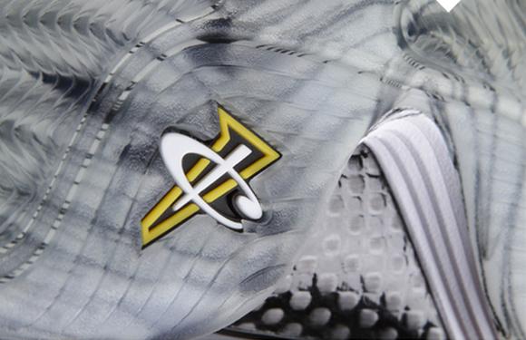 Nike Air Penny V (5) 'Black/Black-Cool Grey-Tour Yellow'