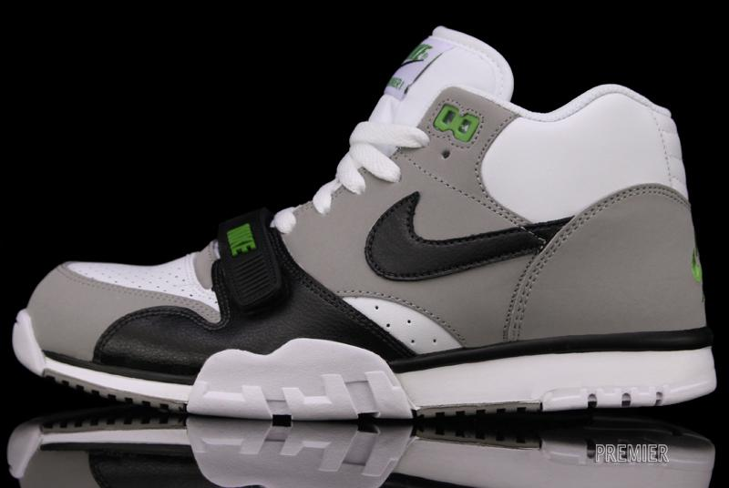 free shipping de6d0 7162c Nike Air Trainer 1 Mid Premium  Chlorophyll  at Premier