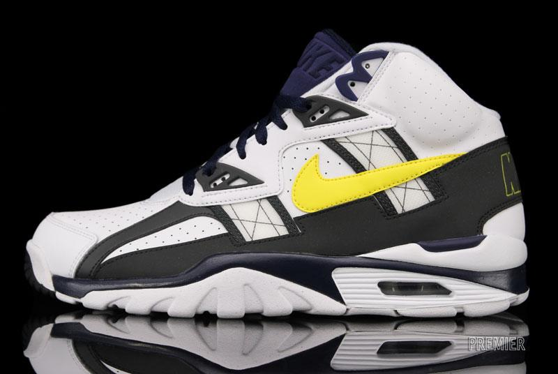 Nike Air Trainer SC High 'White/Tour Yellow-Anthracite-Midnight Navy'
