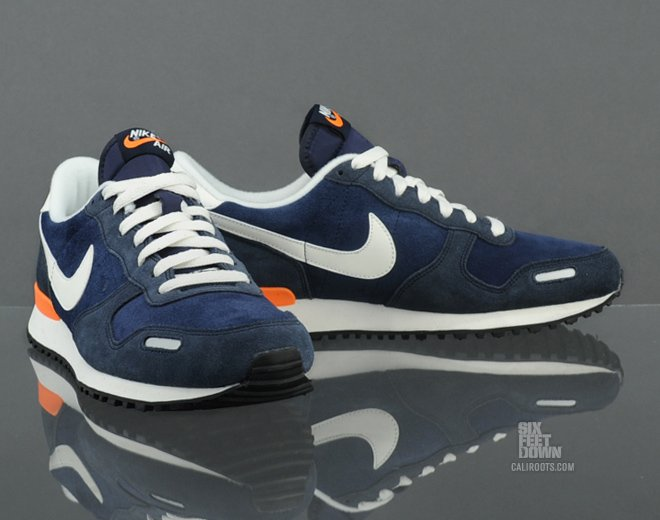 Nike Air Vortex Leather 'Midnight Navy/Sail'