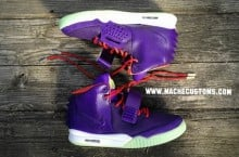 Nike Air Yeezy 2 'Kobe Cheetah' by Mache Custom Kicks