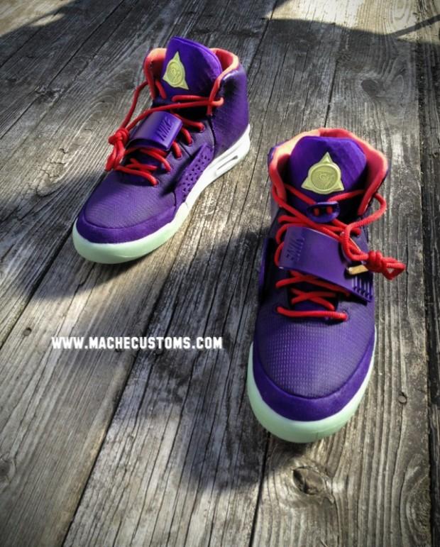 Nike Air Yeezy 2 'Kobe Cheetah' by Mache Custom Kicks