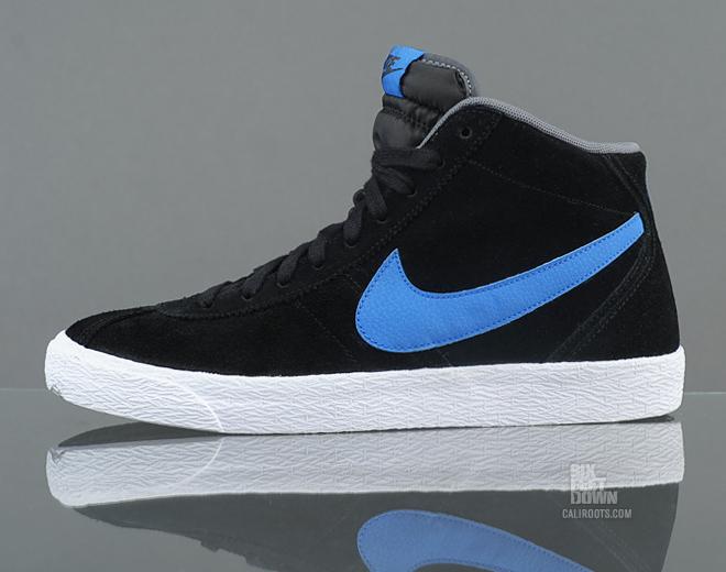 Nike Bruin Mid 'Black/Signal Blue'