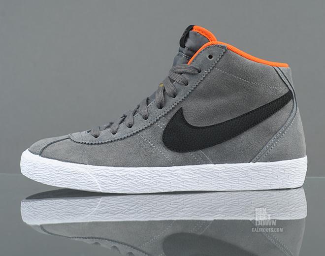 Nike Bruin Mid 'Dark Grey/Black'