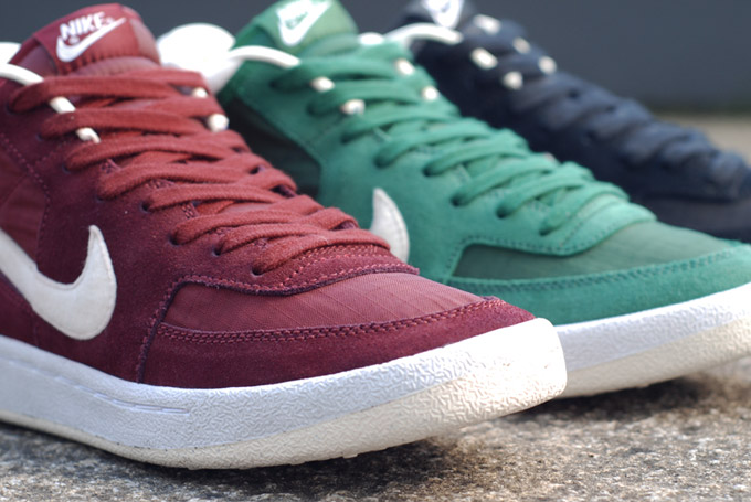 Nike Challenge Court Mid Suede and Ripstop Pack