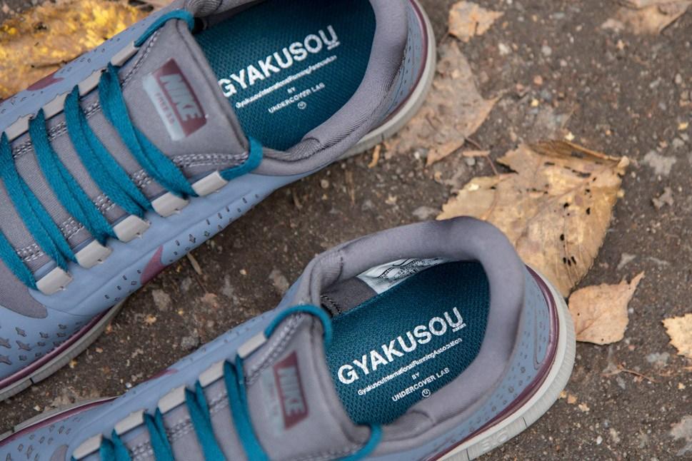 Nike Free 3.0 V4 GYAKUSOU 'Blue Dusk/Deep Burgundy-Dark Grey'