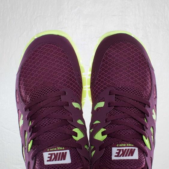 Nike Free Run+ 2 NSW 'Bordeaux/White-Volt' at SNS