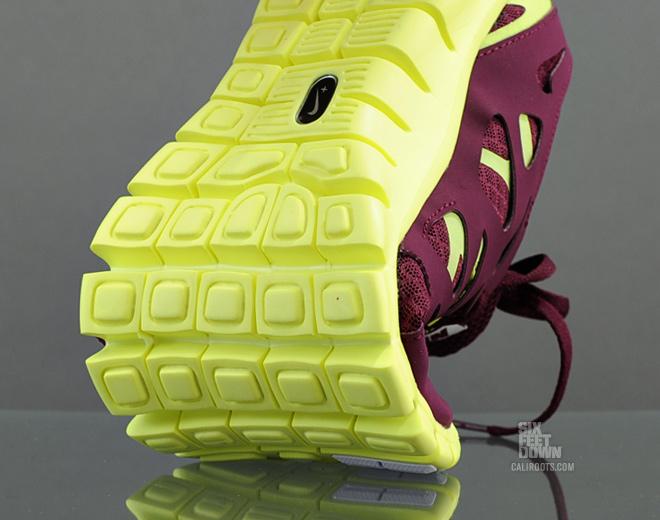 Nike Free Run+ 2 NSW 'Bordeaux/White-Volt'