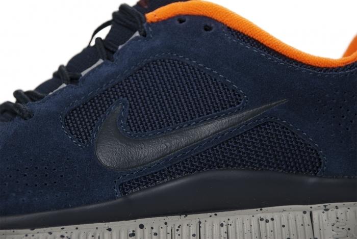Nike Free Run+ 3 'Obsidian/Obsidian-Dark Team Red-Total Orange'