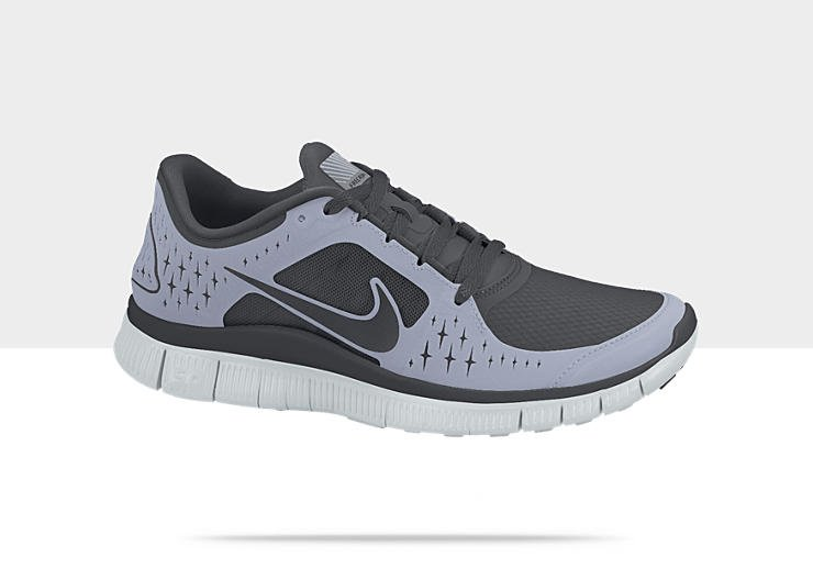 Nike Free Run+ 3 Shield 'Anthracite/Anthracite-Reflective Silver'