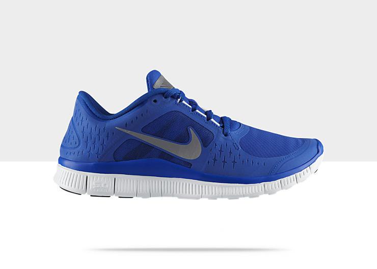 Nike Free Run+ 3 Shield 'Game Royal/Metallic Silver-Blue Tint'