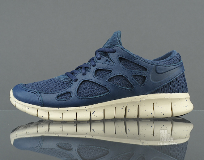 Nike Free Run 2.0 Woven NRG 'Squadron Blue'