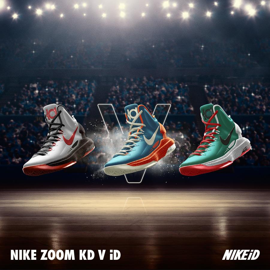 the best attitude ec02f be2f6 Nike KD V (5) iD Samples