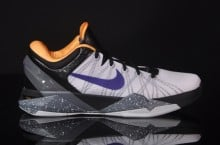 Nike Kobe VII (7) 'White/Court Purple-Black-University Gold' at afew